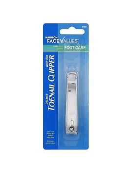 Harmon® Face Values™ Toenail Clipper With File by Bed Bath And Beyond