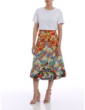 Gucci Floral Print Skirt by Gucci