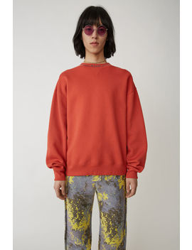 Iconic Sweatshirt Red by Acne Studios