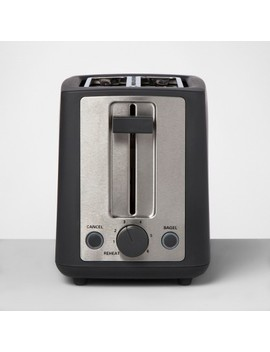 2 Slice Extra Wide Slot Stainless Steel Toaster   Made By Design™ by Shop This Collection