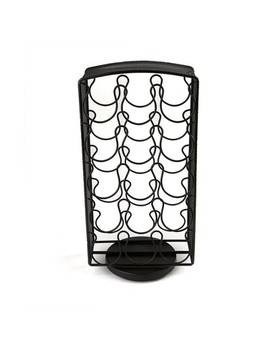 Mind Reader 30 Capacity Metal Mesh K Cup Single Serve Coffee Pod Holder   Black by Shop All Mind Reader