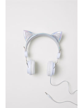 On Ear Headphones With Ears by H&M