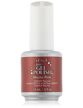 Ibd Just Gel Nail Polish, Mocha Pink, 0.5 Fluid Ounce by Ibd