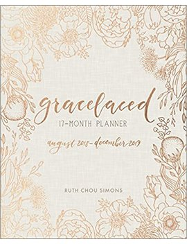 Grace Laced 17 Month Planner by Ruth Chou Simons