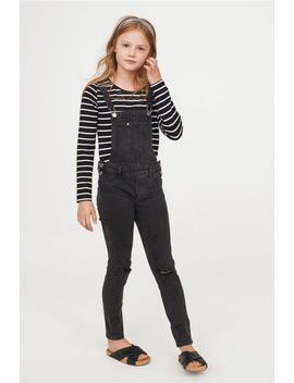 Skinny Fit Bib Overalls by H&M
