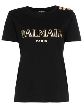 Balmainlogo Print T Shirthome Women Balmain Clothing T Shirts & Jersey Shirts by Balmain