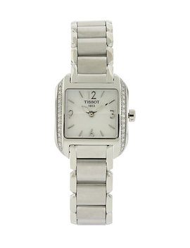 tissot-womens-stainless-steel-diamond-watch by tissot