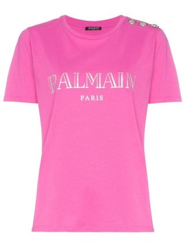 Balmainparis Logo Cotton T Shirthome Women Balmain Clothing T Shirts & Jersey Shirts by Balmain