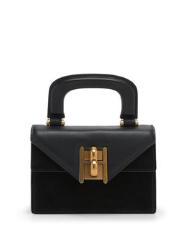 Plaza Suede Mini Bag by Henri Bendel