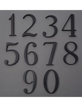 "6"" Traditional House Numbers by Rejuvenation"