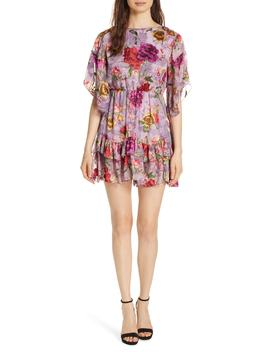Katrina Ruffled Floral Dress by Alice + Olivia