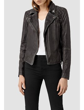 Lederjacke by All Saints
