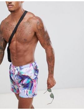 11 Degrees Swim Shorts In Floral Print by 11 Degrees