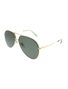 Gg0356s 001 Gold Aviator Sunglasses by Gucci