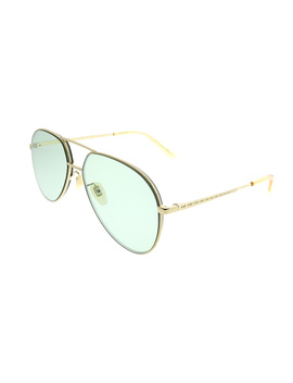 Gg0356s 004 Gold Aviator Sunglasses by Gucci