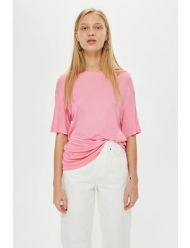 **Slash Back Ribbed T Shirt By Boutique by Topshop