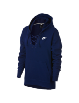Nike Rally Lace Up Hoodie by Lady Foot Locker