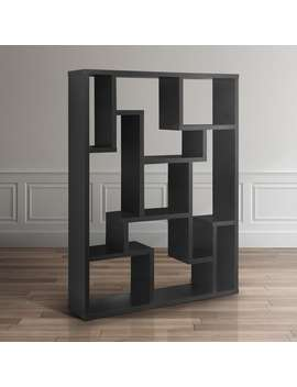 Furniture Of America Mandy Black Bookcase / Room Divider by Furniture Of America