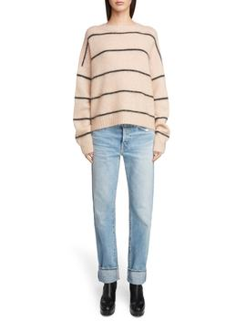 thin-stripe-oversized-sweater by acne-studios