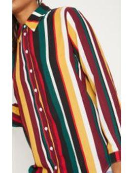 Multi Stripe Shirt by Prettylittlething