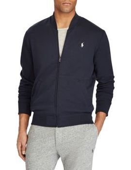 Double Knit Bomber Jacket by Polo Ralph Lauren