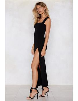Square With Me Maxi Dress by Nasty Gal