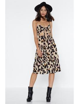 Ooo You're Moving To Fast Midi Dress by Nasty Gal