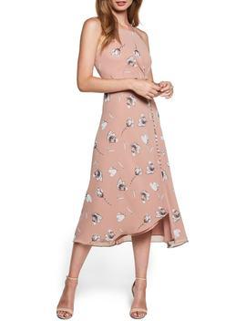 Twist Cutout Midi Dress by Bardot