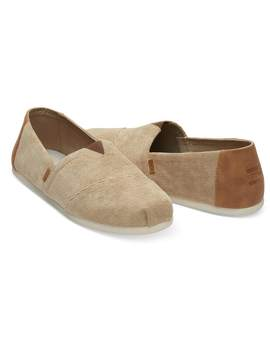 Toffee Micro Corduroy Men's Classics by Toms