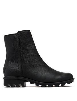Phoenix Zip Waterproof Leather Boots by Sorel