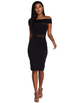 Don't Mesh Up Dress by Windsor
