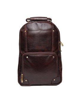 100% Genuine Leather Backpack For Unisex by Reo Leather