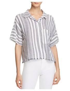 Stripe Camp Shirt by Bella Dahl