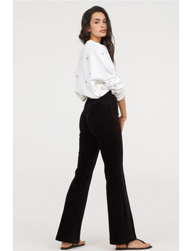 Flared Corduroy Pants by H&M