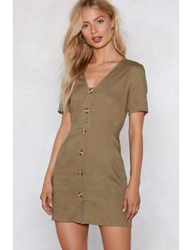 Burning Down The House Mini Dress by Nasty Gal