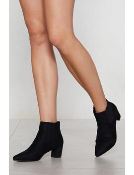 Pointelle Chelsea Boot by Nasty Gal