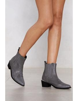 All For The West Croc Boot by Nasty Gal