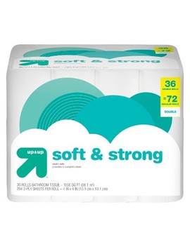 Soft & Strong Toilet Paper   Double Rolls   Up&Up™ by Shop All Up & Up™