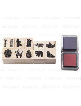 Stamp Set (Japanese Pattern) by Muji