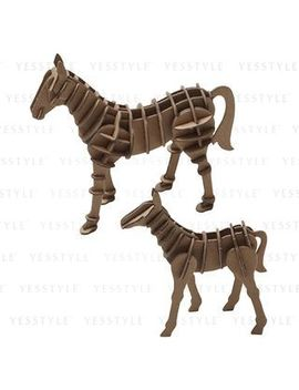 Recycled Cardboard Press Out (Horse Family) by Muji