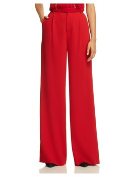 Eric High Waist Wide Leg Pants  by Alice And Olivia
