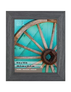 Distressed Black Frame, Home Collection By Studio Décor® by Studio Decor