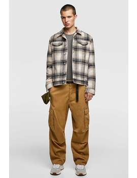 Checkered Jacket  View All Jackets Man by Zara