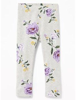 Printed Leggings For Toddler Girls by Old Navy
