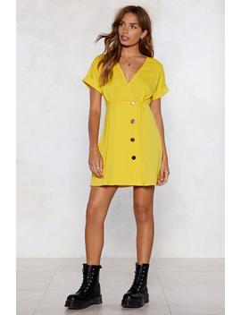 Button To The Next Mini Dress by Nasty Gal