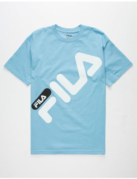Fila Micah Light Blue Mens T Shirt by Fila