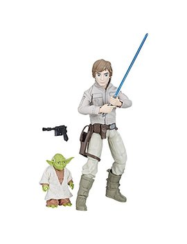 Star Wars Forces Of Destiny Luke Skywalker And Yoda Adventure Set by Star Wars
