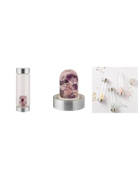 Wellness Vi A Gem Water Bottle – Amethyst by Vita Juwel