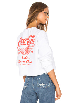 Coca Cola Life Tastes Good Sweatshirt by Junk Food