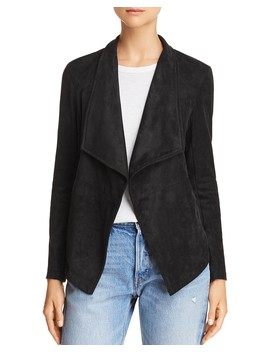 Earned It Lace Up Faux Suede Jacket  by Bb Dakota